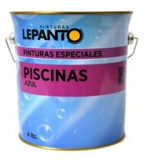 Pintura Piscinas Clorurocaucho Azul 4 Litros