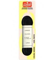 Cordón Calzado Plano Negro Sport 110 CM