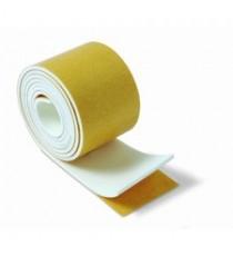 Protector De Espuma Adhesivo Blanco Rollo 40 MM x 1 M