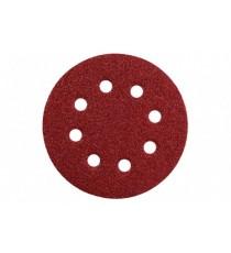 Hojas de Lijar Adhesivas Circulares 125 MM P - 80 5 Unidades