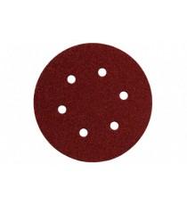 Hojas de Lijar Adhesivas Circulares 150 MM P - 80 6 Unidades