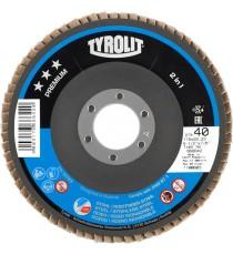 Disco de Láminas Tyrolit Premium 125 x 22,23 MM GR - 40