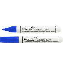 Marcador Permanente Azul Classic 524
