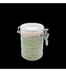Bote De Cocina Hermético Decorado Verde 0,7 L