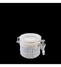 Bote De Cocina Hermético Decorado Azul 0,4 L