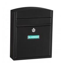 Buzón Exterior Acero Negro Compact