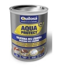 Silicona Líquida Impermeable Aqua Protect Gris 1 KG