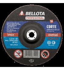Disco Corte 180x3x22.23 Mm A24R-BF Profesional Inox