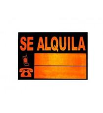 Señal Se Alquila Mediana 49 x 35 CM