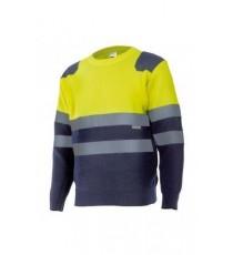 Jersey bicolor alta visibilidad