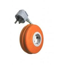 Enrollacable Roller 3x1,5 mm2 Naranja 2 Metros