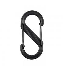 Mosquetón S-Biner Plástico Negro