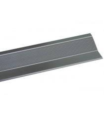 Tapajuntas Moqueta Adhesivo Aluminio Plata 985 MM