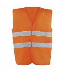 Chaleco De Alta Visibilidad Naranja L