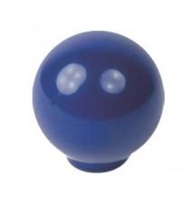 Pomo ABS Azul Oscuro Esférico 29 MM