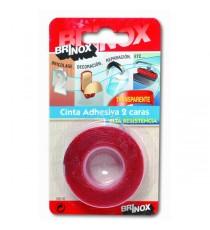 Cinta Adhesiva Doble Cara Alta Resistencia 19 x 1,5 MM Brinox