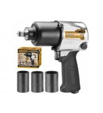 "Pistola De Impacto Neumática 1/2"" Ingco AIW12562"