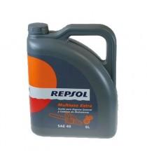 Aceite Repsol Multiusos Extra SAE 40 5 Litros