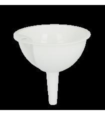 Embudo Plástico Blanco 12 CM