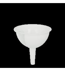 Embudo Plástico Blanco 10 CM
