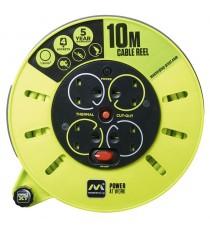 Enrrollacables De Cassete 10 M Masterplug CME10164SL