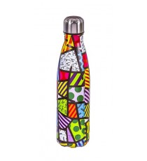 Botella Inoxidable 500 ML Estampado Colores