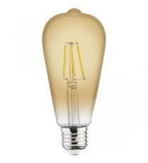 Lámpara Vintage Con Filamento Led 6 W 2200K E27