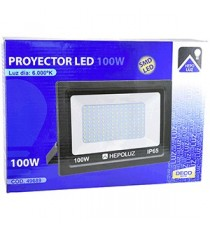 Proyector SMD Led 100 W 6000ºK Negro 260 MM