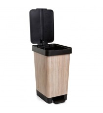Cubo De Basura Con Pedal 25 Litros Smart Wood