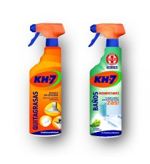 KH7 Quitagrasas + KH7 Zas Desinfectante Baños