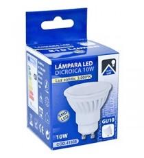 LÁMPARA SMD LED DICROICA GU10 10W 3000K