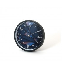 Reloj De Pared 24 CM Marco Negro