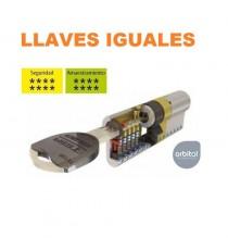 Recargo Cilindro TK100 LLaves Iguales
