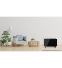 Radiador Convector Eléctrico Wi-Fi 1000W READY WARM 6670 CRYSTAL CONNECTION