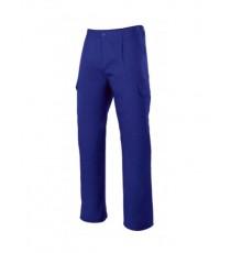 Pantalón Multibolsillos Azulina 345