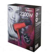 Secador De Pelo Ionico Rojo 2200 W Kuken