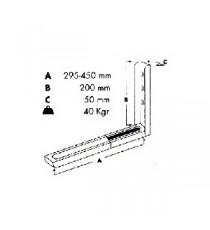Soportes Microondas Extensibles 40 KG