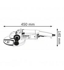 Amoladora Bosch GWS20 230 JH