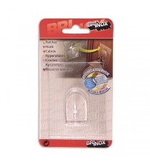 Percha Removible Transparente 80 x 62 MM