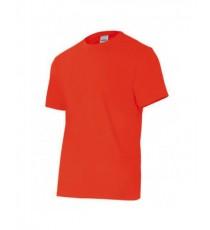 Camiseta Manga Corta Roja Velilla