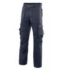 Pantalón multibolsillos con refuerzo Azul MERCURIO