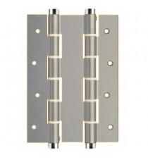 Bisagra doble acción de aluminio DA180 180x40 Plata JUSTOR