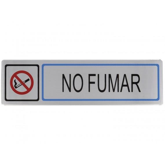 """Placa Informativa adhesiva """"No fumar"""""""