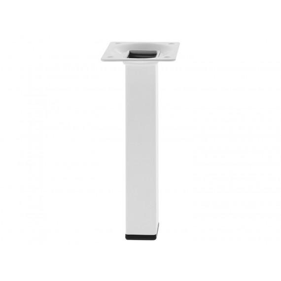 Pata Cuadrada Blanca 100 MM Mod. 3