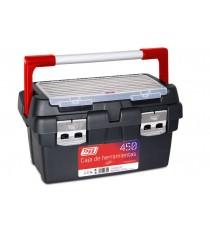 Caja De Herramientas Plástico Y Aluminio Modelo 450 Tayg