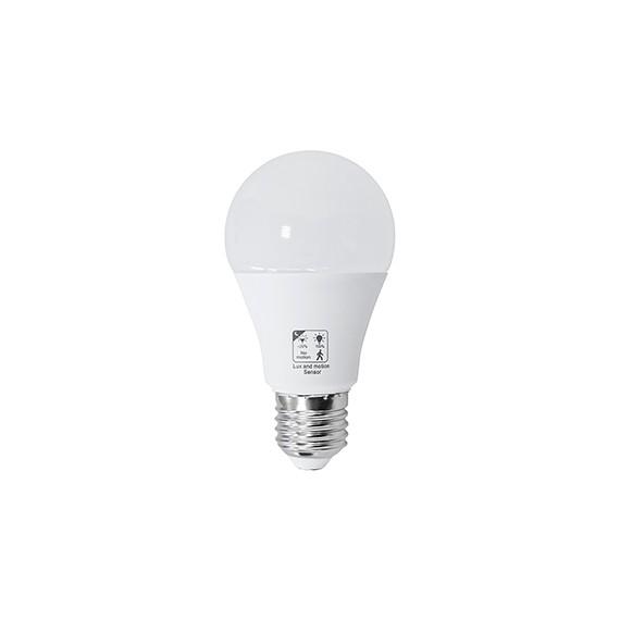 Lámpara Led Con Sensor Crepuscular Y Movimiento 10 W 4000K