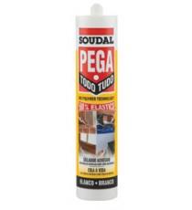 Adhesivo Sellador Pega Todo Soudal 290 ML Blanco