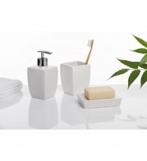 Dosificador De Jabón Blanco Serie THAI