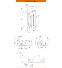 Abrepuertas Dorcas Serie 9937-2 AbF 10-24