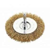 Cepillo Circular Ondulado Con Espiga 100 MM